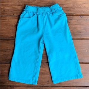 Gymboree Teal Capri Pants
